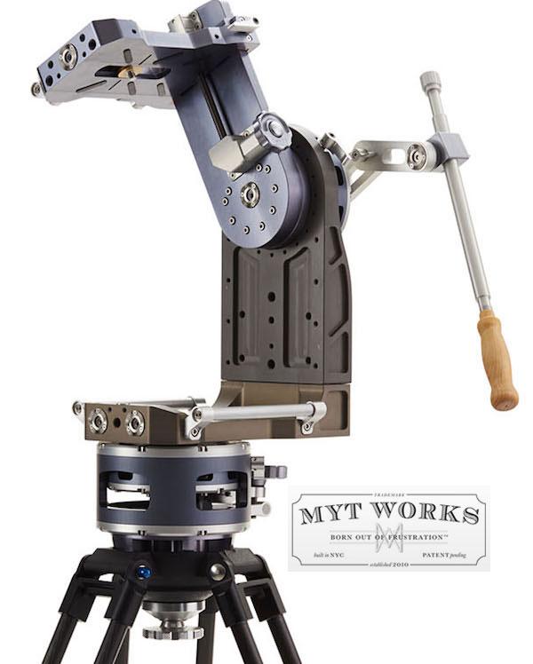 Mole Richardson 400w Vari Studio Junior Led Fresnel: MYT-Works-Velour-Nodal-Head
