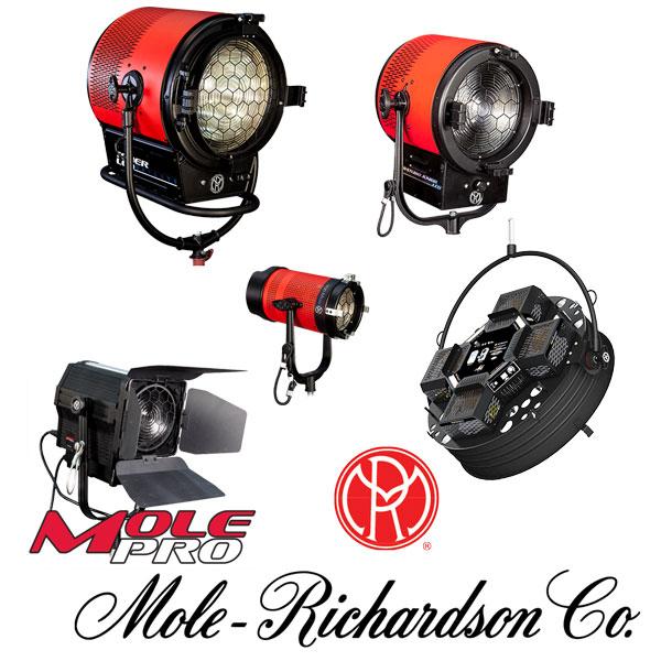 Mole Richardson 400w Vari Studio Junior Led Fresnel: Barbizon Lighting Company
