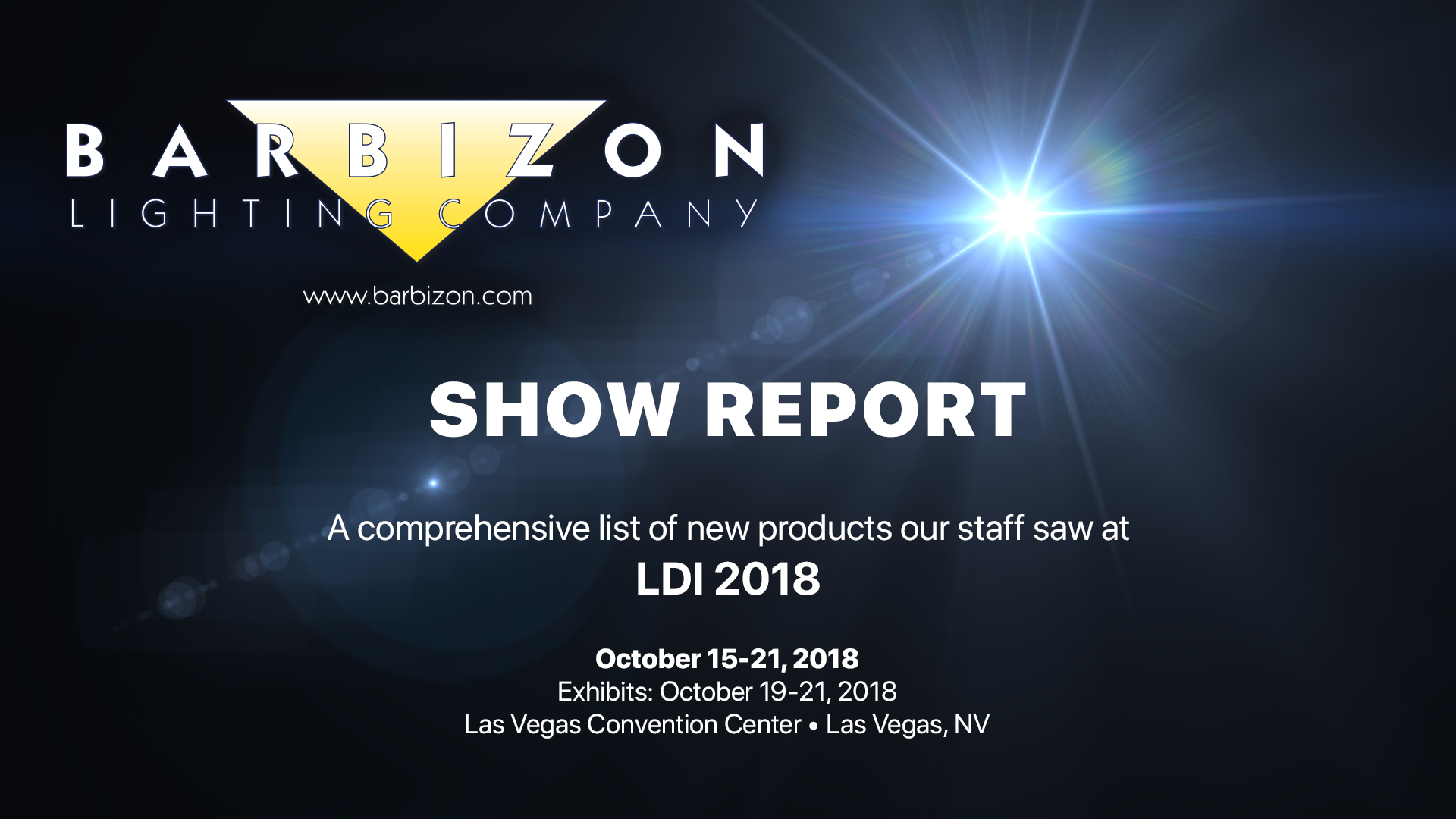 Category Ldi 2018 Barbizon Lighting Company Is A Little Eyecandy Circuit Which Continuously Cycles An Rgb Led Show Report