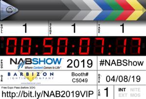 Barbizon Lighting NAB 2019
